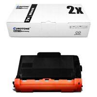 2x Eurotone Eco Cartucho Compatible para Brother MFC-L-5700-DN DCP-L-5500-DN