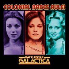 Classic Battlestar Galactica Colonial Babes T-Shirt New Unworn