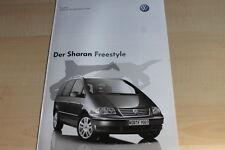 132608) VW Sharan Freestyle - Preise & Extras - Prospekt 10/2005