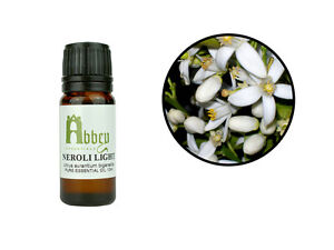 Essential Oil Neroli Light Aromatherapy Pure Natural Fragrance 10 -500ml 1 Litre