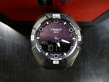 Tissot Solar T-Touch Expert Men's Watch T091.420.46.051.00 45mm Leather Band