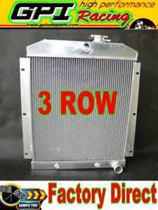 Aluminum Radiator Chevy C/K Series / Suburban / Panel Truck 1947-1954 48 49 50