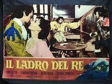 FOTOBUSTA CINEMA - IL LADRO DEL RE - ANN BLYTH - 1955 - AVVENTURA - 06