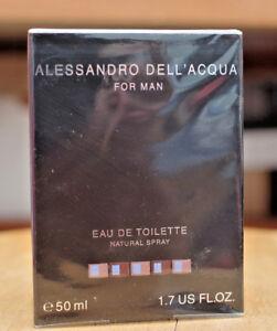 Alessandro Dell'Acqua for Man Eau de Toilette 50ml 1.7oz / 25ml 0.8oz spray NIB