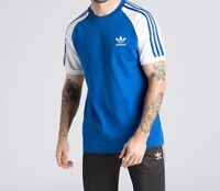 ADIDAS ORIGINALS RETRO 3 STRIPES CALIFORNIA TSHIRT BNWT SIZE  S-XXL LAST FEW