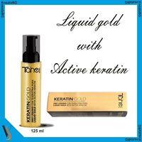 TAHE KERATIN GOLD 125ml Liquid Gold Keratin Active plant stem cells Argan oil