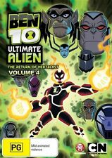 Ben 10 - Ultimate Alien : Vol 4 (DVD, 2011) New Region 4