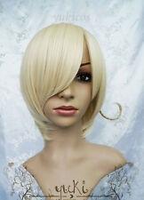 new Axis Powers Hetalia APH HETALIA NORWAY Short Blonde Wig +gift