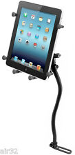 "RAM X-Grip Vehicle No-Drill Mount fits iPad, Other 10"" Tablets w/Heavy Duty Case"