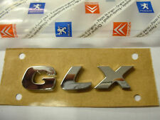 "BRAND NEW GENUINE PEUGEOT 206.306.406""GLX"" BADGE 8663LH"