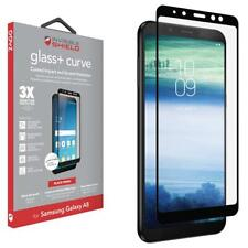 ZAGG Samsung Galaxy A8 InvisibleShield Glass Curved Screen Protector Black Trim