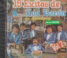 Los Baron De Apodaca 15 Exitos CD New Nuevo sealed