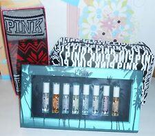 Victoria's Secret Pink Three Pair Boxed Sock Set + Cosmetic Bag + Perfume Set