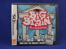 NDS Big Brain Academy. Nintendo DS, 2006. DS, DSi, DSi Lite. *COMPLETE*