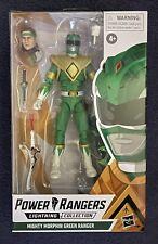 Power Rangers Lightning Green Ranger 7 inch Action Figure - Hasbro