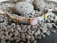 Armband tolle Form bunte Steine edel schick elegant 925 Silber 21,92 g CP4593