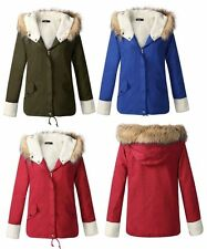 Casual Regular Size Parkas Coats & Jackets for Women