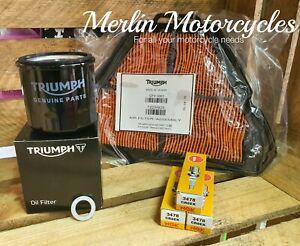 Triumph Sprint ST 1050 2005-2010 Genuine Service Kit inc Sump Washer - Next Day