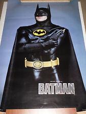 Original Vintage Batman With A Gun Michael Keaton Movie Poster 1989 Price Reduce