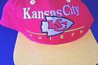 Kansas City Chiefs Team NFL Red Yellow Snapback Hat cap Vintage new original kc