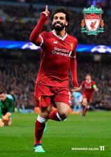Mohamed Salah Poster # 6 Liverpool Footballer no. 11. A4 297mm x 210mm.