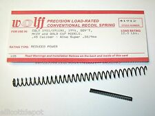 """WOLFF™  """"REDUCED POWER"""" 12 POUND RECOIL SPRING fits M1911/A1.45 ACP PISTOL Auto"""