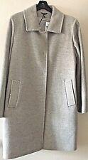 Cinzia Rocca Icons Wool & Cashmere Women's Plus Coat Gray 16W NWT MSRP $950