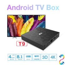 NEW Arrival T9 TV BOX HD 4K Free Movies Rk3328 4GB 32GB Set Top BOX Media Stream