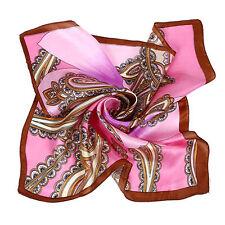 Écharpes et châles bandanas pour femme, en 100% soie