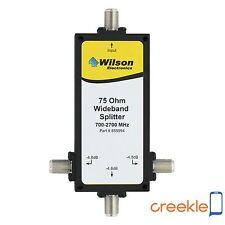 weBoost (Wilson)  859994 3-Way 75 Ohm Splitter, 700-2500 Mhz F-Female Connectors