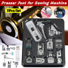11pcs Sewing Machine Presser Foot Feet Tool Kit Set For Brother Singer Domestic