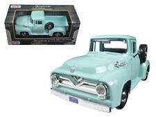 1955 Ford F-100 Pickup Truck 1:24 Scale Diecast Model Light Green - 79341GRN*