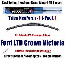 Super Premium NeoForm Wiper (Qty 1) fits 1987-1990 Ford LTD Crown Victoria 16180