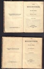 Alessandro Dumas-I tre moschettieri-Prima edizione italiana ( rif. 25724 )