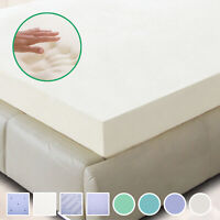 "New 5.5 COMFORT 2"" 3"" 4"" TWIN, FULL, QUEEN, KING MEMORY FOAM MATTRESS TOPPER"