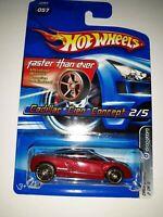 Hot Wheels Cadillac Cien Concept. Faster Than Ever Series. 2005 Mattel. (P-38)