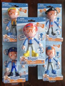 Blippi Bendables - Pick Your 5 Inch Figure - New in Packaging
