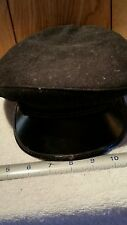 Vintage WWII?  WOOL SAILORS CRACKER JACK FLAT CAP HAT CAPSY