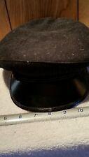 Vintage WWII?  WOOL SAILORS CRACKER JACK FLAT CAP HAT CAPSY