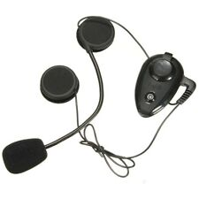 A2DP 500M BT INTERPHONE MOTORCYCLE HELMET INTERCOM HEADSET KIT WITH BLUETOOTH