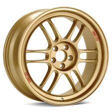 17x9 Enkei RPF1 5x100 +45 Gold Wheel (1 Rim only)