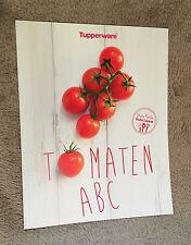 Tupperware-Tomato ABC Cookbook Recipe Book