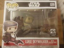 Star Wars Pop Rides Leia En Speeder Bike Pop Vinyl-Nuevo Embalaje error!