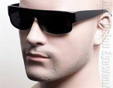 Cholo Gangster Sunglasses Super Dark OG LOC Style Lowrider Black Matte 7SD