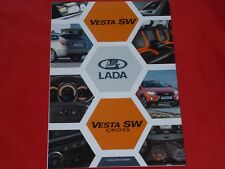 LADA Vesta SW + SW Cross Prospekt von 2017