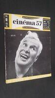Rivista Mensile per Lettera Cinema N° 22 Novembre 1957 Be