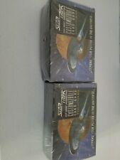 2x Star Trek TNG CCG Sealed Unlimited Booster Box (1995)