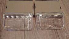 2×Fog Lights Glass L+R BMW E30 318,320,325i,325iX M Technic M Technik 2 Alpina
