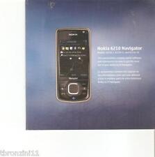 NOKIA 6210 NAVIGATOR - CD - 2008 - solo programma CD