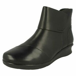 Ladies Hope Track Leather Ankle Boots By Clarks Retail Price £64.99